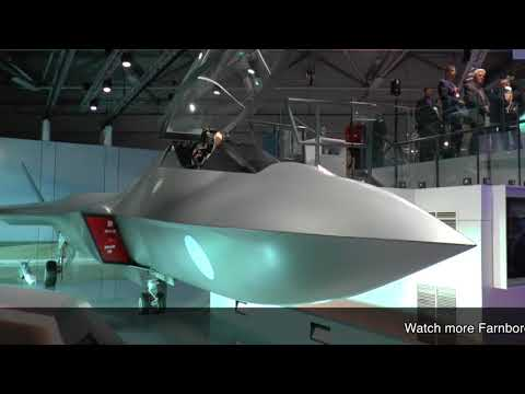 Farnborough 2018: Tempest Fighter Jet launch