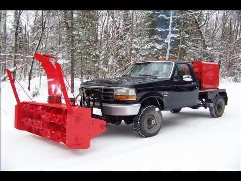 Homemade truck snowblower chevrolet Tracker Doovi