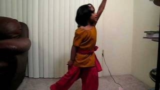 BHARATANATYAM DANCE STEPS FOR KIDS