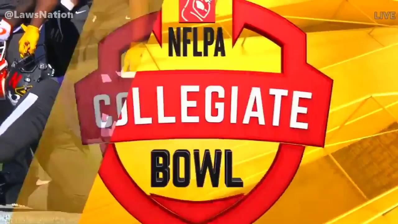 NFLPA Collegiate Bowl : American vs National 2018 ᴴᴰ