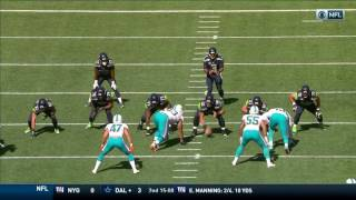 Russell Wilson Scrambles & Throws Bomb, but Gets Picked Off! | Dolphins vs. Seahawks | NFL