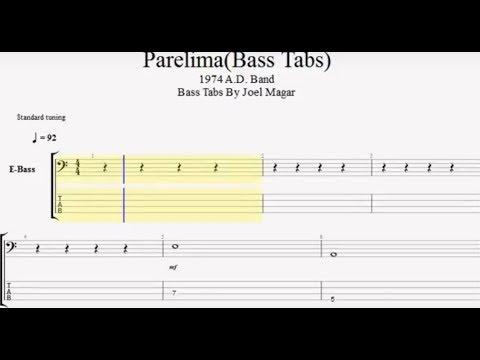 Parelima 1974ad-Bass tabs by joel magar) bass cover-Nepali bass ...