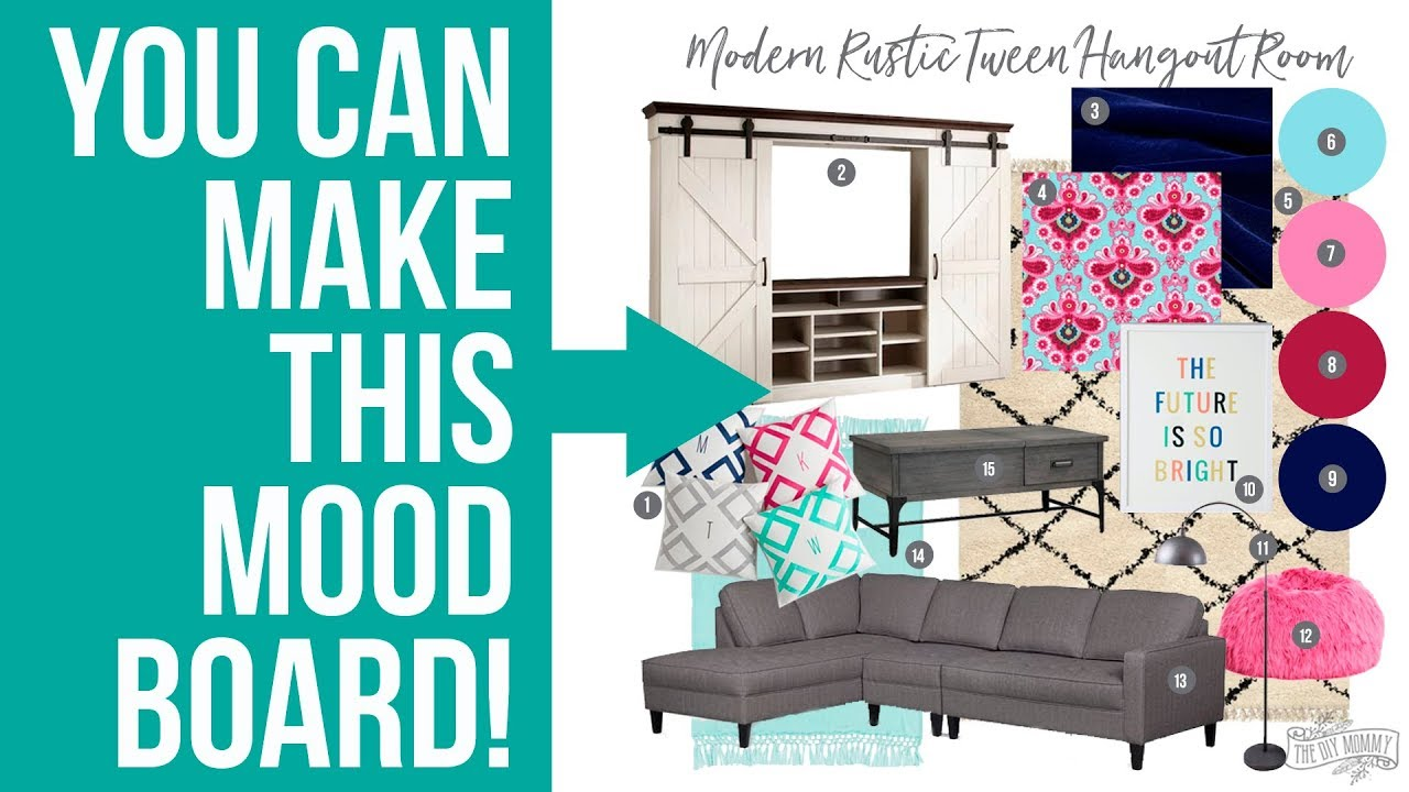 How To Make An Interior Design Mood Board In Photoshop Youtube