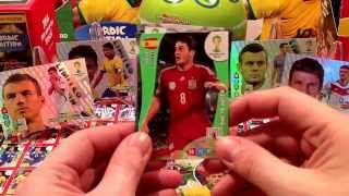UNBOXING BLISTER PANINI WORLD CUP BRAZIL 2014