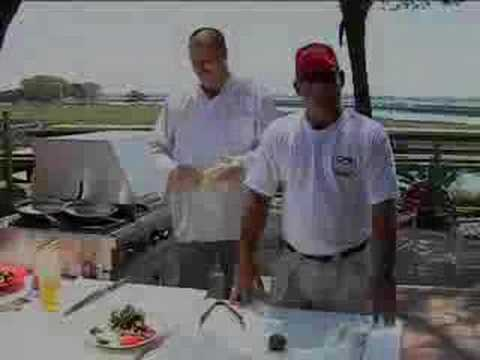 Grilled Kingfish Steaks