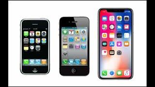Apple: L'évolution des iPhone jusqu'à l'iPhone X