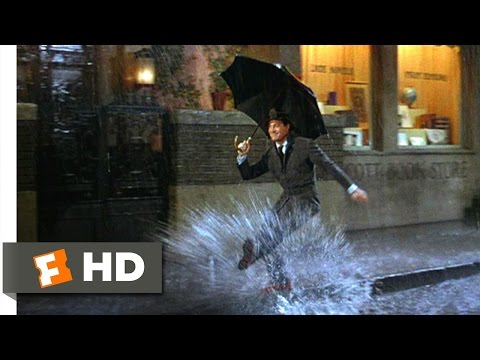 Dancing in the Rain - Singin' in the Rain (7/8) Movie CLIP (1952) HD