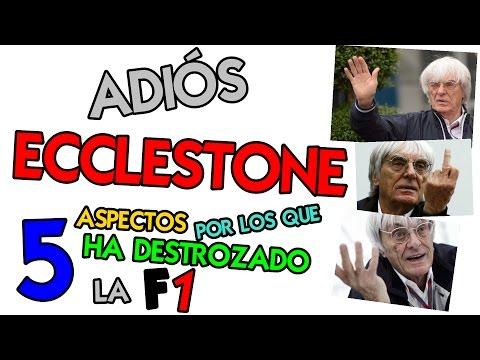 Adiós Bernie Ecclestone - 5 Aspectos por los que ha destrozado la Formula 1