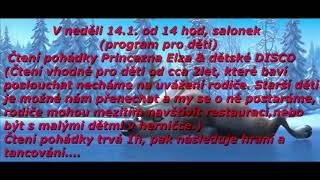 Čtení pohádky Princezna Elza & dětské DISCO (Restaurace Černý kohout)