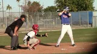 Nick Sueppel - 2013 Winter Select Ball Highlights w/ Catching & Hitting Mechanics