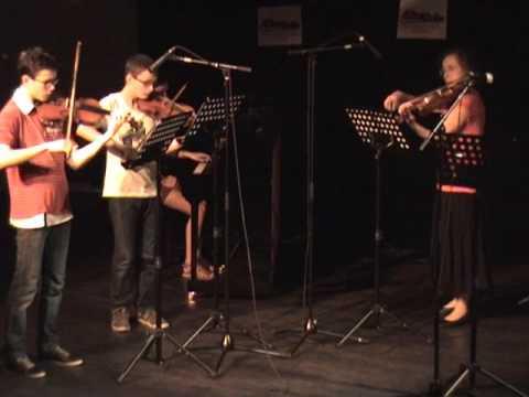 """""""1er mouvement du Concerto RV 161"""" de Vivaldi par les élèves de Notes en Stock"""