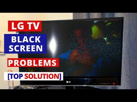 How To Fix LG TV Black Screen Problems    How To Fix LG TV Black Screen Of Death