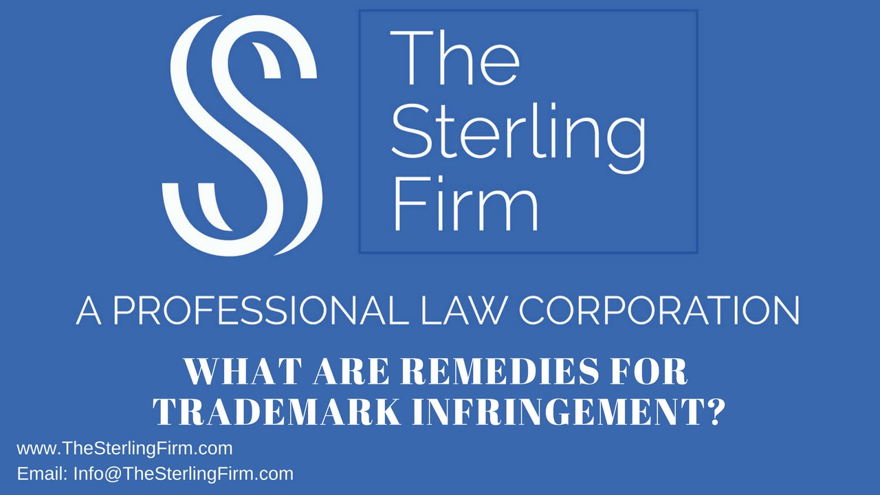What are remedies for trademark infringement youtube what are remedies for trademark infringement biocorpaavc Choice Image