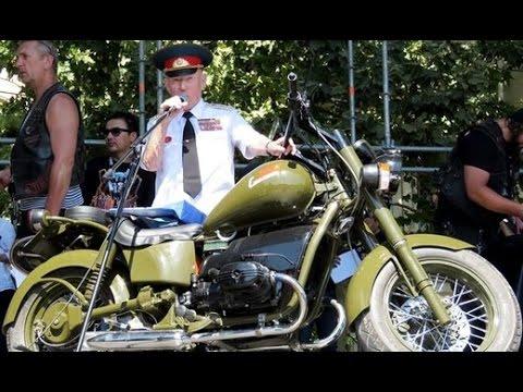 В Севастополе представили новый российский мотоцикл «Сталинец»