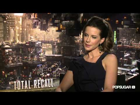 Kate Beckinsale Talks Teaming Up With Husband Les Wiseman on Total Recall