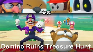 Super Mario Party Waluigi and Monty Mole vs Diddy Kong and Dry Bones #61