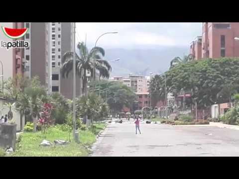 Gnb reprime a manifestantes en Base Aragua