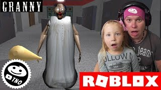 We PLAY FOR GRANNY and we CATCH YOU-Granny | Roblox | Daddy and Barunka CZ/SK