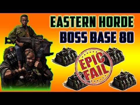 Eastern Horde 80 Hannibal Boss Base | Shadow Ops Phase One