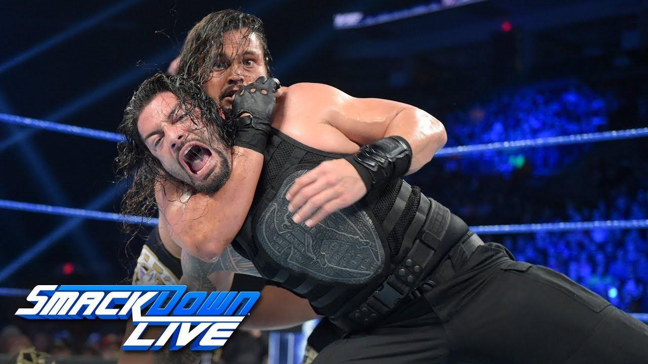 Download Reigns vs. B-Team - Handicap Match with Special Guest Referee Elias: SmackDown LIVE, April 30, 2019
