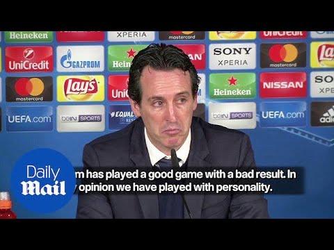 PSG boss Unai Emery admits two late goals 'tough to take' - Daily Mail