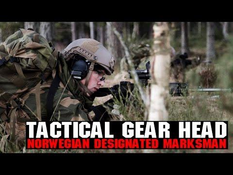 Norwegian Designated Marksman Tactical Gear Heads | H&K 417 DMR & More! | AIRSOFTGI.COM