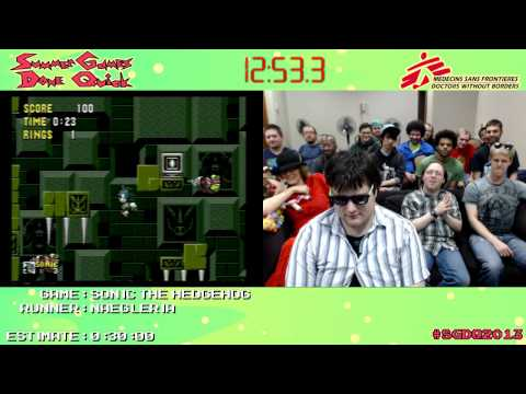 Sonic The Hedgehog [GEN] :: SPEED RUN (0:22:47) *Live at #SGDQ 2013*