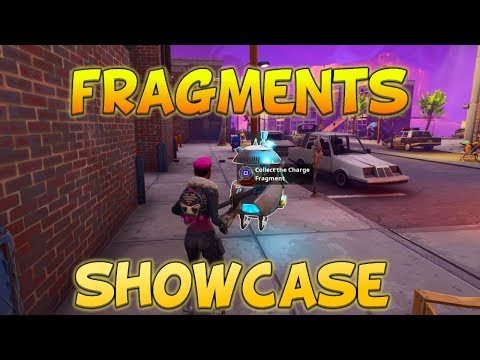 CHARGE FRAGMENTS & LLAMA FRAGMENTS SHOWCASE! - Five Minute Features Ep 4 [Fortnite #208]