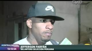 Central CMD: Declaraciones de Jefferson Farfán (Perú 3-4 Chile)