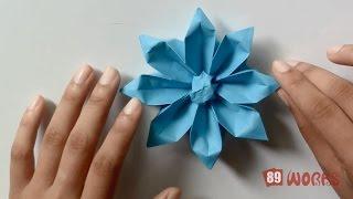 Origami Hand Works Gerbera Flower - HandiWorks #04