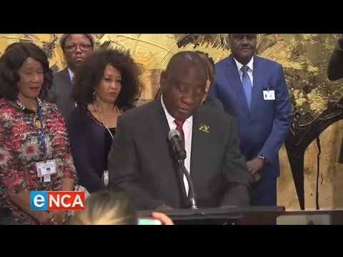 President Cyril Ramaphosa has officially unveiled Nelson Mandela statue
