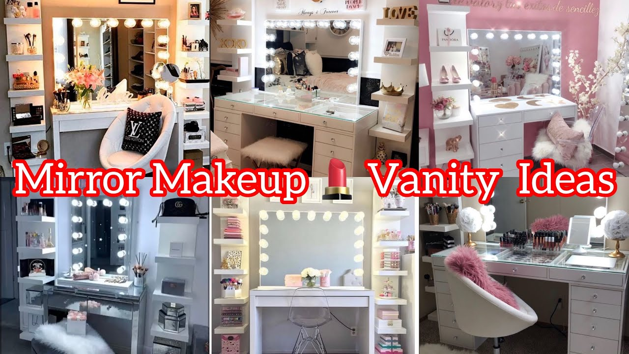 35 makeup vanity and mirror setup ideas makeup vanity ideas for bedroom the dressify diary