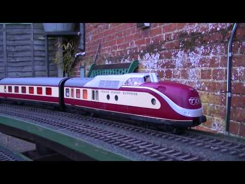 Trans European Express By PIKO R/C and Sound in G Scale