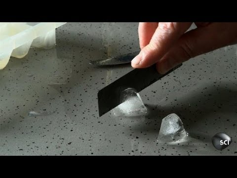 Slicing Ice With Your Fingers (and a bit of graphene)! | Outrageous Acts of Science