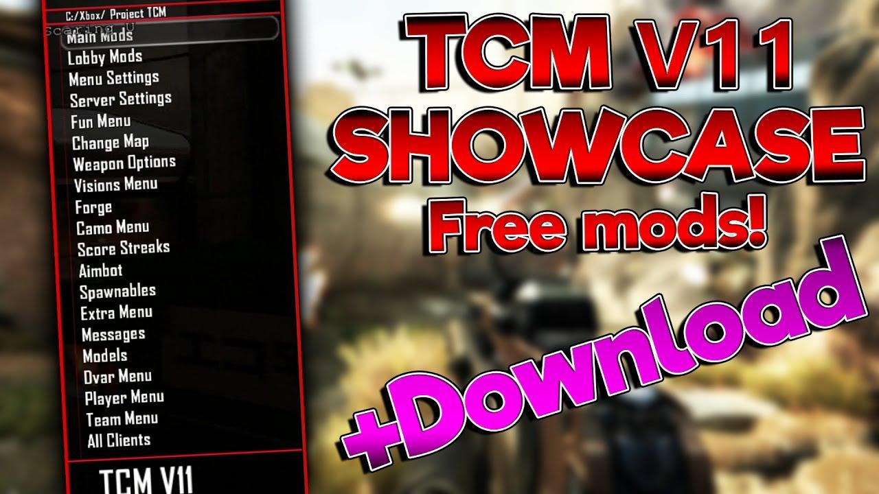 TCM v11 Mod Menu Showcase!! +Download!!!! - Ripped Robby