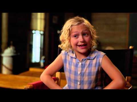 Dolly Parton's Coat of Many Color: Alyvia Alyn Lind Behind the Scenes TV Interview