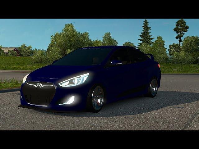 Hyundai Accent Blue [ETS2 1.31]
