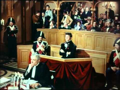 """""""Le rouge et le noir"""" film de 1954 - Bande annonce"""