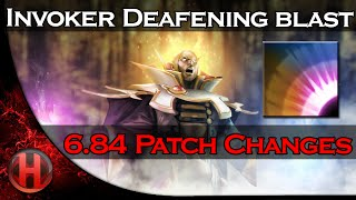 6.84 Patch Changes Dota 2 - Invoker Max level Deafening Blast