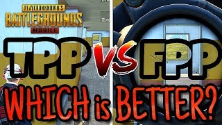 FPP vs TPP in PUBG Mobile | The Question is... Which is BETTER?