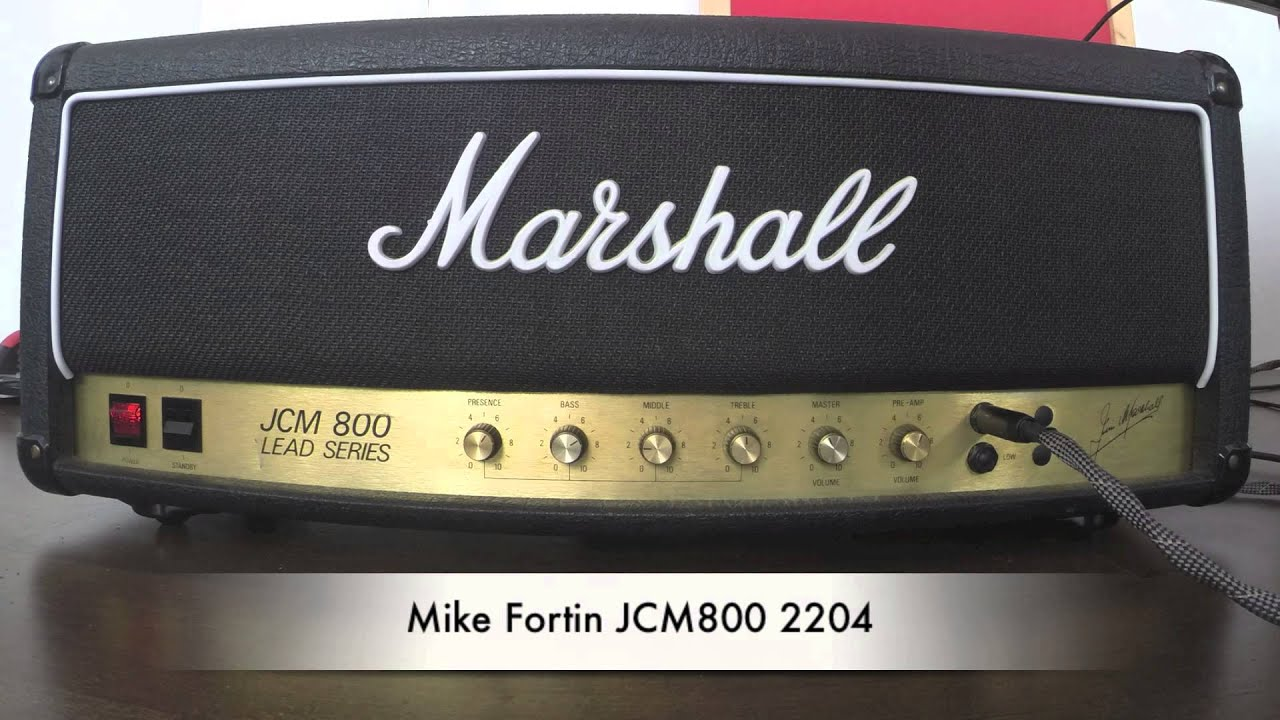 Modifications - FORTIN AMPS