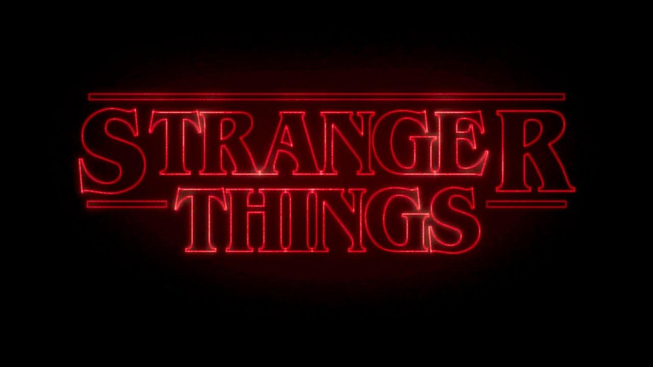 Resultado de imagen de stranger things logo