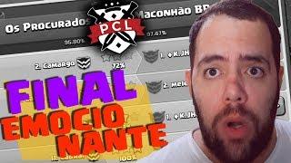 A FINAL DO MAIOR TORNEIO DE CLÃS BRASILEIROS [PROCLASHERSLEAGE -  CLASH OF CLANS]