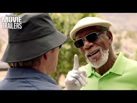 Just Getting Started | First trailer for comedy with Morgan Freeman & Tommy Lee Jones