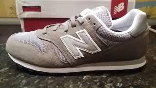 New Balance 373 Suede Men Gray Sneakers
