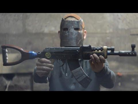 Штурмовая винтовка АК - 47 (Калаш) Из игры Rust  How To Make Assault Rifle From Rust
