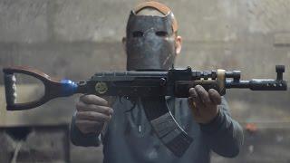 Штурмовая винтовка АК - 47 (Калаш) Из игры Rust  How to make Assault rifle from Rust(В этом видео буду собираться штурмовая винтовка ак - 47 (Калаш) из игры Rust. В нее будет установлен гирбокс..., 2016-09-11T18:55:36.000Z)