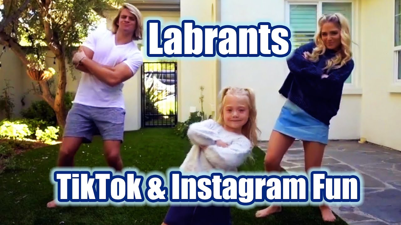 LABRANT FAMILY FUNNY MOMENTS FROM TIKTOK AND INSTAGRAM