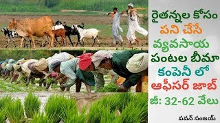 Local Jobs - Agricultural Officer Jobs with Excellent Salary | in Telugu By Pa1