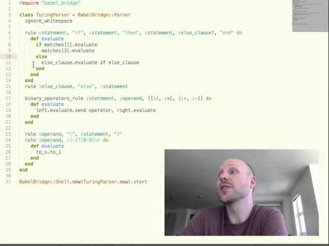 How to write a Turing-Complete Programming Language in 40 minutes
